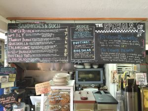 SWEETPEA MENU BOARD